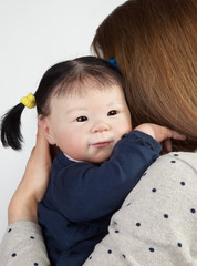 Adorable asian Baby