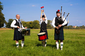 Highland Games Trebsen 2012 Pipeband