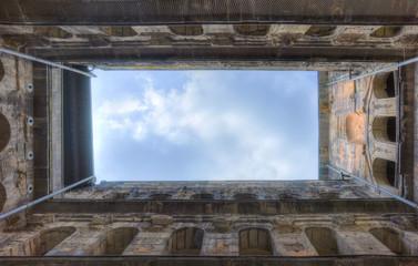 Roman building in Trier, Germany