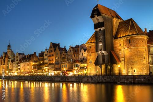 Zdjęcia na płótnie, fototapety na wymiar, obrazy na ścianę : Gdansk