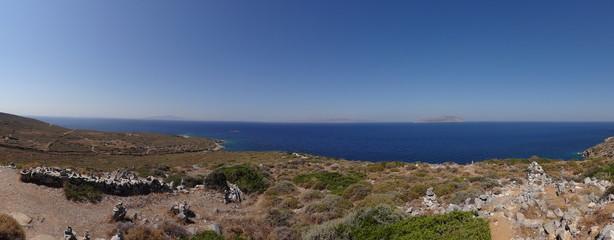 Panorama paysage Grec