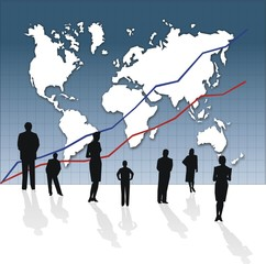 carte du monde business