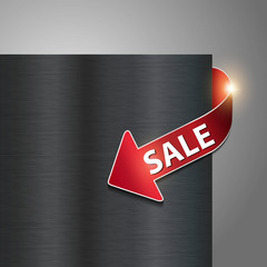 metallic internet shop sale button