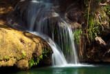 Fototapeta Creek - strumień - Kaskada / Wodospad / Gejzer