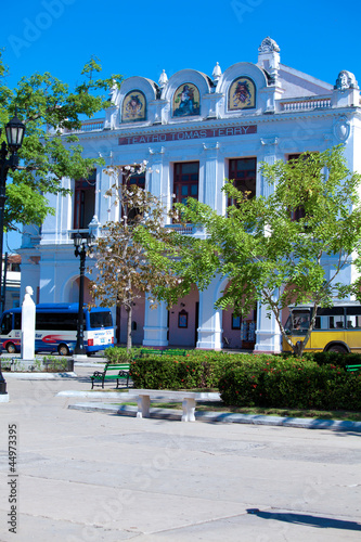 Building of Teatro Tomas Terry (build. 1886-1889), Cienfuegos, C