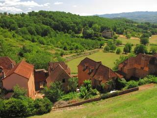 Village de Castelnau-Bretenoux; Corrèze Lot ; Limousin Périgord