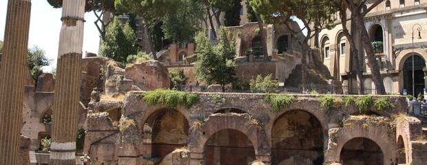 Antica Roma, ruderi