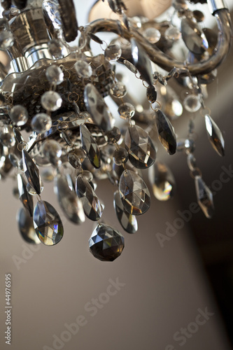 lustre suspension cristal pampilles chandelier d coration de jacques palut photo libre de. Black Bedroom Furniture Sets. Home Design Ideas