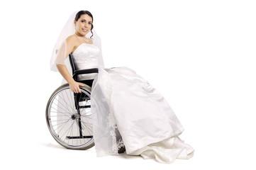 Disabled Bride