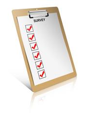 Survey checklist