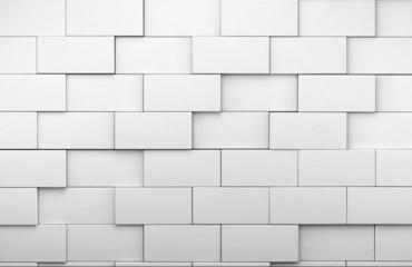 pared de ladrillos blancos