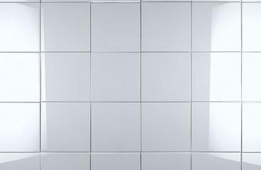 detalle de baldosas blancas