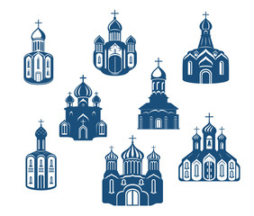 Religious churches and temples