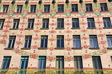 Jugendstil Hausfassade