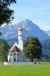 St. Coloman Church, near Fussen, Bavaria,