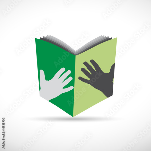 Logo book # Vector