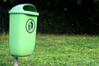Rubbish/baket, green