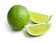 sliced ​​lime