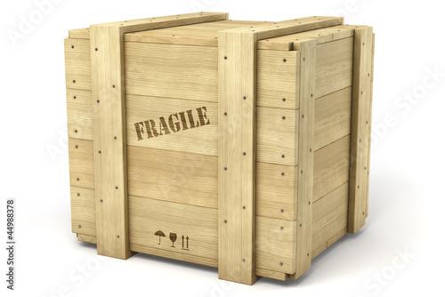 """""""Caisse de bois sur fond blanc 1"""" photo libre de droits sur la banque d'images Fotolia com  # Acheter Des Caisses En Bois"""