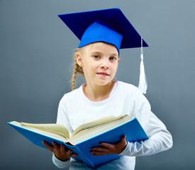 Graduation kid