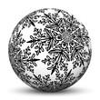Kugel, Eiskristall, Schneeflocke, Ball, Sphere, Dekoration, XMAS