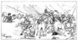 Antique Battle - Greece-Persia