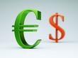 Eurozeichen grün