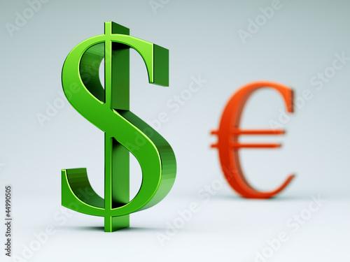 Dollarzeichen grün