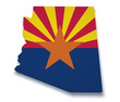 Arizona Map 3d Shape