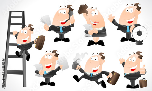 Office Charactes Vectors