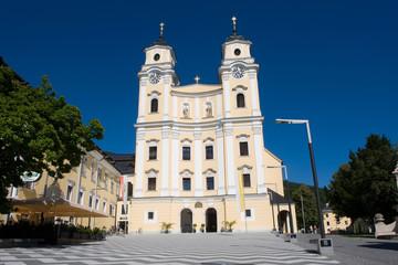 Collegiate church in Mondsee