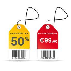 étiquettes soldes/promo