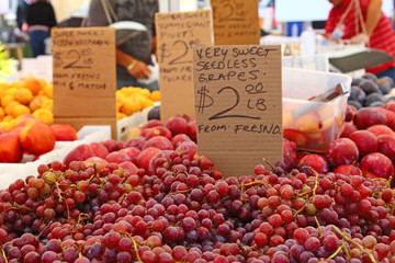 Gemüsemarkt in Kalifornien