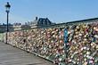 Paris, Pont des Arts on Seine river