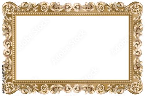 cadre baroque rectangulaire dor fichier vectoriel libre de droits sur la banque d 39 images. Black Bedroom Furniture Sets. Home Design Ideas