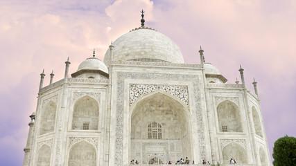 Taj Majal, un de las 7 maravillas del mundo,Agra,India