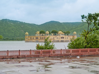Water Palace (Jal Mahal) in Jaipur, Rajasthan, India.