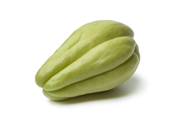 Whole single fresh chayote