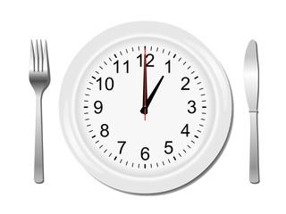 Repas à 1h