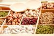Fagioli,lenticchie, ceci e piselli misti