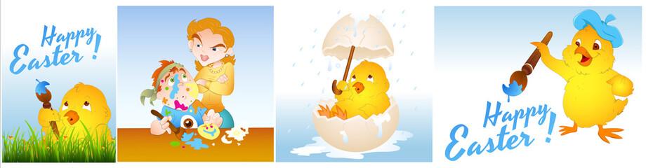 Easter Designs Vectors