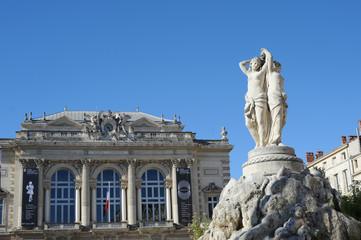 Les 3 graces à Montpellier