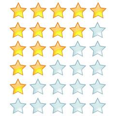 Gelbe Sterne Bewertung