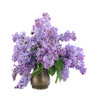 Bouquet of lilac in a vase
