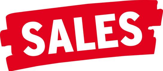 Wischer rot - Sales - Abverkauf