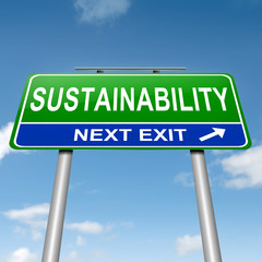 Sustainability concept.