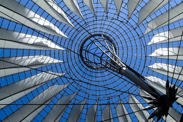 Roof of the Sony Center