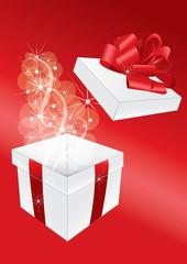 pacco regalo aperto