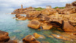 Pink Granite Coast. Brittany, France