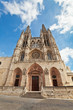 Cathedral in Burgos, Spain, which is under protection of UNESCO